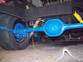 "The New 8"" Ford Axle"