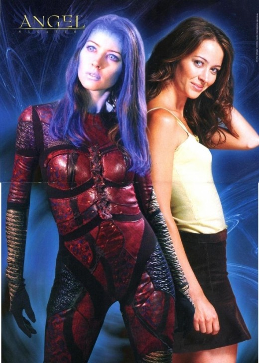 Amy Acker played both Illyria and Fred