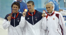 Olympic swimmer Michael Phelps struggled with ADHD as a child. Source: http://commons.wikimedia.org/