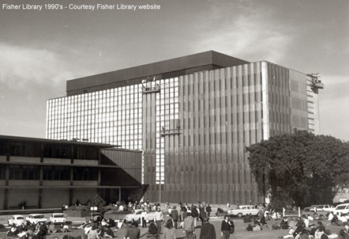 Fisher Library - When it was inaugurated