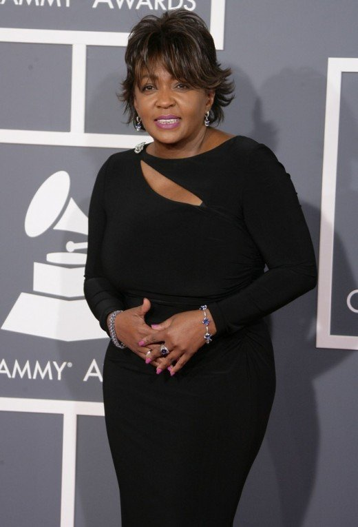 Anita Baker today on Grammy Awards