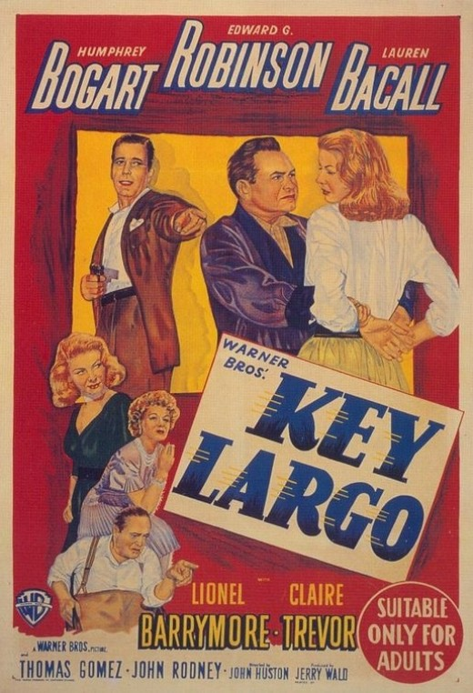 Key LargoDrama,Thriller,Crime,Film NoirHumphrey Bogart and Edward G. Robinson