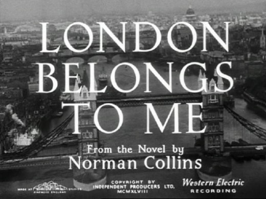 London Belongs To MeDramaRichard Attenborough and Alastair Sim