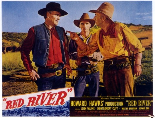 Red RiverAction,Adventure,WesternJohn Wayne and Montgomery Cliff