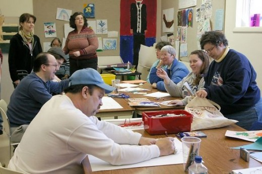 Creators of Art Class, March 2011