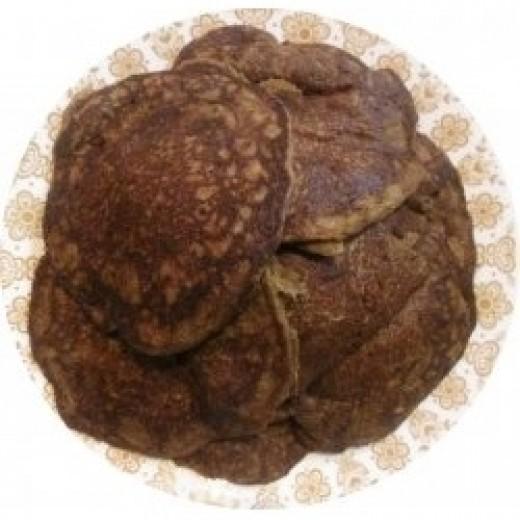 Pumpkin Buckwheat Pancakes
