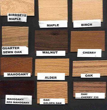 Natural Wood Colors