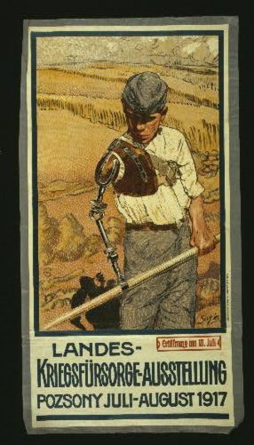 First World War Recruitment Posters. Austrian World War I poster