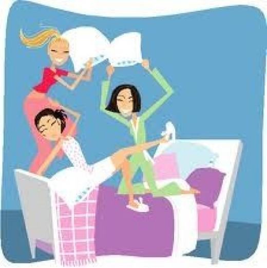 sleepover game tips