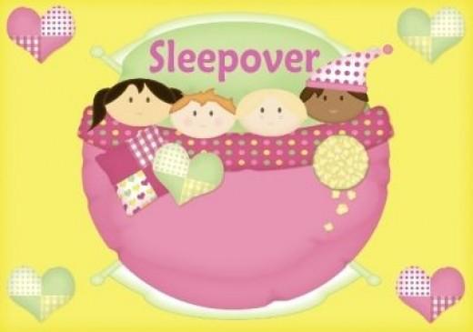 Sleepovers are FUN!