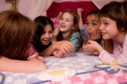 Sleepover Blink Game