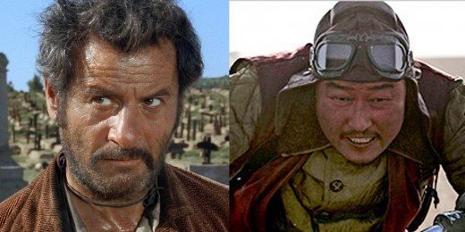 THE UGLY/WEIRD - Eli Wallach (1966) and Kang-ho Song (2008)