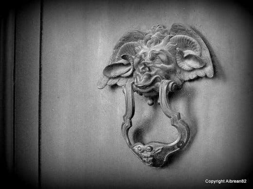Door knockers have always fascinated me.
