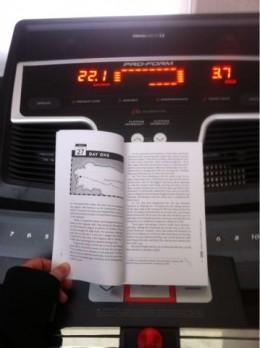 The reluctant pilgrim, treadmill