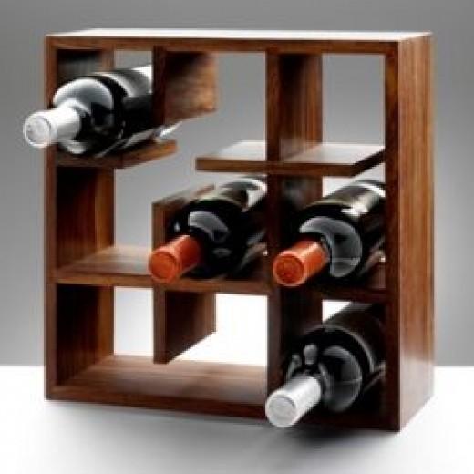 Define cube wine rack