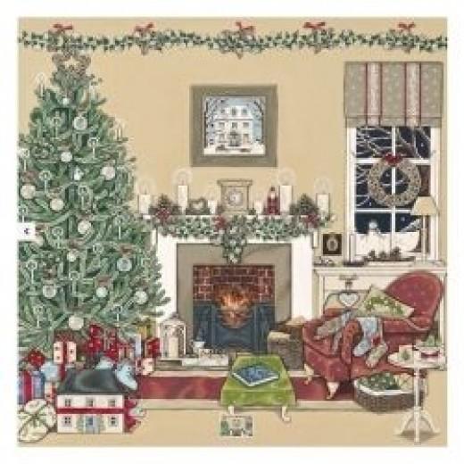 Christmas Cards - Christmas Eve