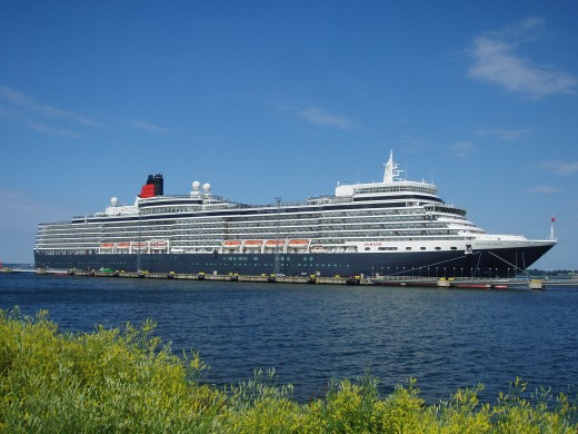 Cunards newest ship was christened MS Queen Elizabeth in 2010