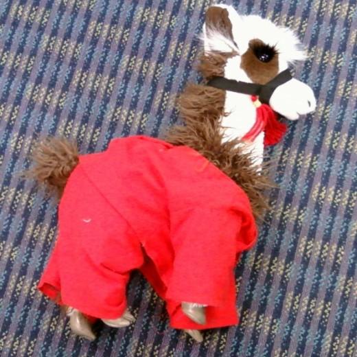llama llama red pajama puppet