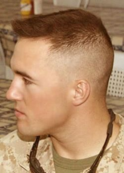 High and tight military buzz cut