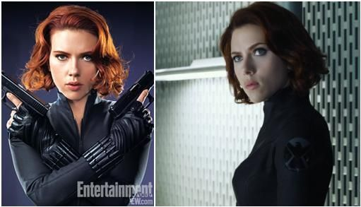 Black Widow Headshot