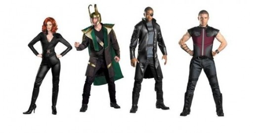 New Adult Avengers Costumes