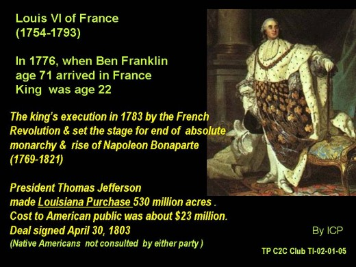 Ben Franklin in Paris-- Memorybook 1776