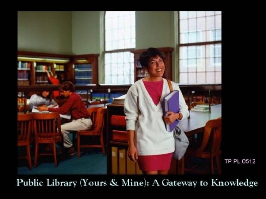 Public Library, Your Community & Mine: A Tool for Communinity, Family & Personal Knowledge