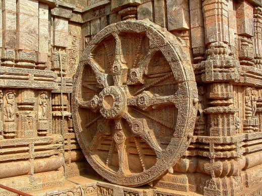 Handicraft of our ancestors showing the architectural ingenuity.