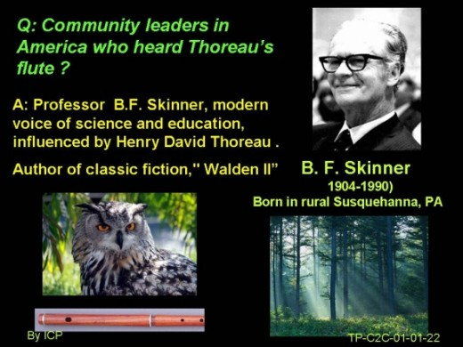 What is community wealth according to Walden Two ? Nature vs Nurture as each of us a prisoner ?