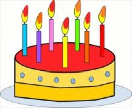 You really can't get 50 candles on one of these . . . it would melt the birthday cake and perhaps several of the celebrants.