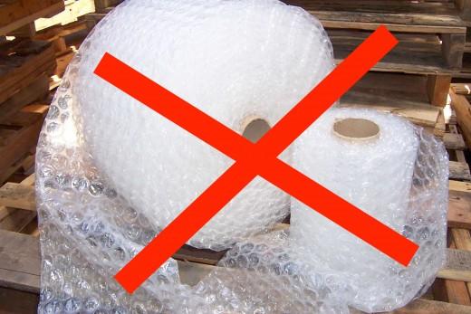 Bubble wrap gets expensive.