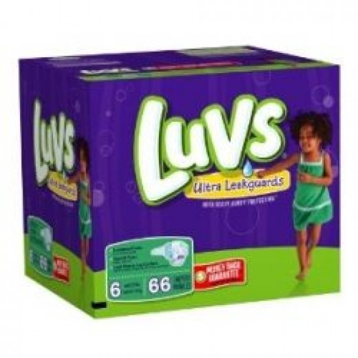 Luvs Premium Stretch Diapers with Ultra Leakguards