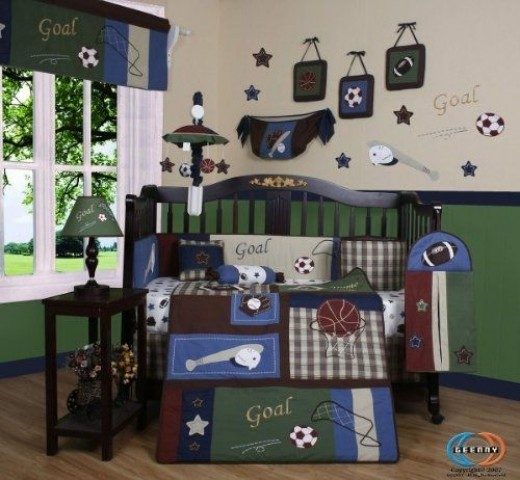 Sports Baby Boy Nursery Ideas: Sports Themed Nursery And Bedroom Ideas