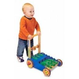Deluxe Chomp & Clack Alligator Push Toy