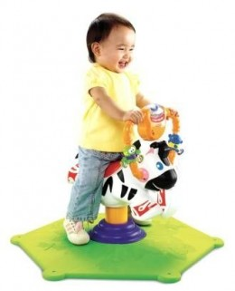 Go Baby Go! Bounce & Spin Zebra