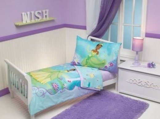 Disney Princess And The Frog 4 piece Toddler Set