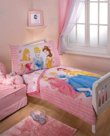 Disney Princess Dreams 4 Piece Toddler Bedding Set
