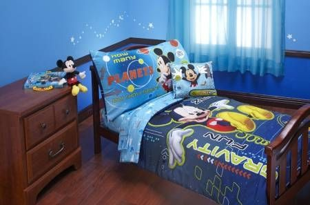 Disney 4 Piece Mickey Mouse Space Adventure Toddler Set