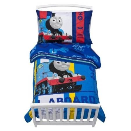 Thomas the Train Toddler Bedding 4 Piece Set
