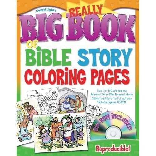 Book of Bible Story Coloring Pages