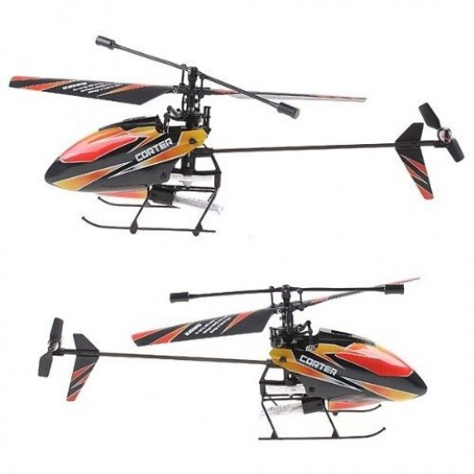 Wl Products V911 - Single Propeller RC Helicopter
