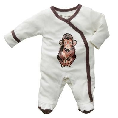 Baby Soy Janey Baby Organic Footie