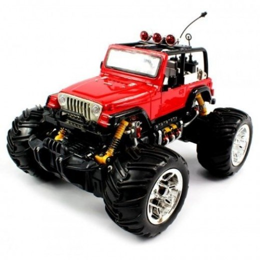 Jeep Wrangler Convertible Monster RC Truck
