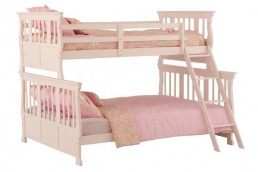 Carrara Twin Double Bunk Bed
