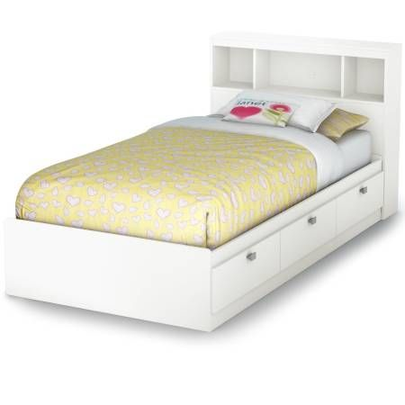 South Shore Spark Collection Twin Mates Bed