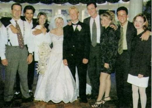 Candace & Valeri's Wedding With Full House Stars