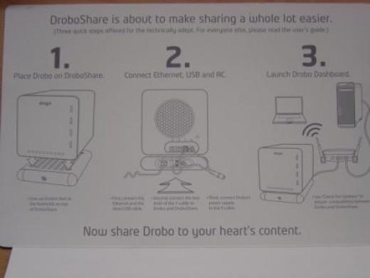 DroboShare Easy Setup