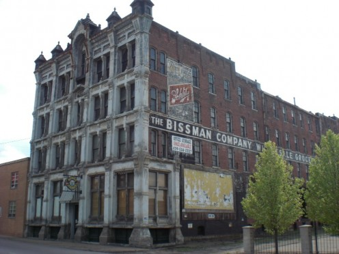 The Bissman Building In Mansfield Ohio