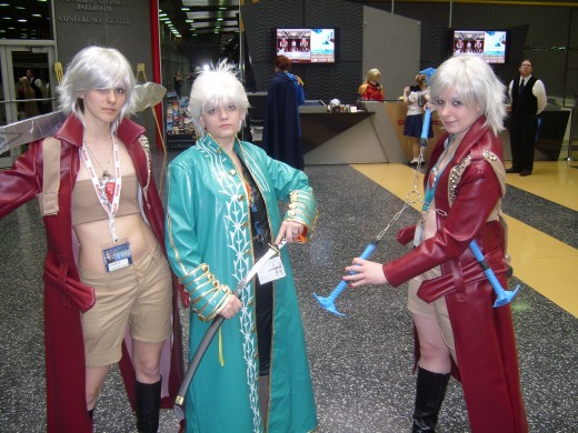 Female Dantes and Virgil