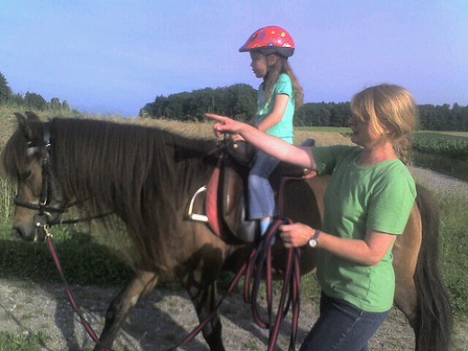Horseback riding is offered at some ADHD camps. Photo by CoreForce.